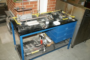 Domestic Workshop Controls Table