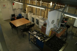 Aerial View of Training Workshop