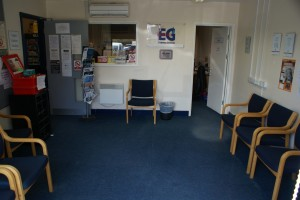 Entrance Lobby, Waiting Area and WC Access